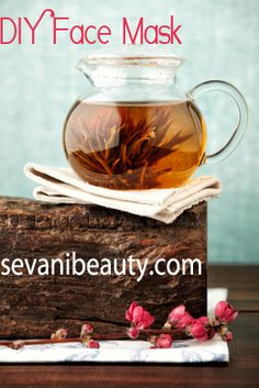 Sevani DIY Face Mask  with Green Tea, #Coconut Oil, Lemon and more!   Brighten your skin with a few easy steps easily created in your very own kitchen!  sevanibeauty.com