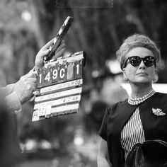 Joan Crawford on the set of Hush, Hush Sweet Charlotte (1964). Following the unexpected box-office success of What Ever Happened to Baby Jane? (1962), director Robert Aldrich wanted to reunite stars Joan Crawford and Bette Davis in Hush… Hush, Sweet Charlotte (1964). Crawford quit after working a week in Baton Rogue and four days in Hollywood. She was replaced in the role of 'Miriam Deering' by Oliva de Havilland.
