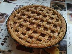 Diétás almás pite zabpehelylisztből Apple Pie, Sugar Free, Waffles, Breakfast, Desserts, Recipes, Food, Cakes, Education