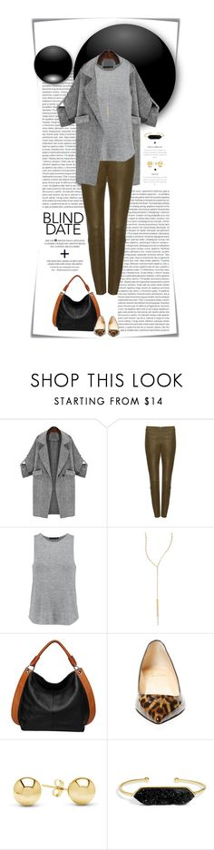 """""""Dress to Impress: Blind Date"""" by dawn-scott ❤ liked on Polyvore featuring Post-It, Oris, Alice + Olivia, rag & bone, Lana, Vicenzo Leather, Christian Louboutin, Jewelonfire and BaubleBar"""