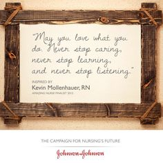 Congratulations to the 2013 Johnson & Johnson amazing nurses! Check out more nurse quotes here: http://chamberlain.edu/blog/top-ten-quotes-for-nurses/