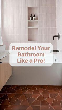 Bathroom Floor Tiles, Bathroom Fixtures, Bathrooms, School Bathroom, Shower Tile Designs, Desert Design, Shower Shelves, Bathroom Inspiration, Bathroom Ideas