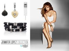 These #charms from the Jennifer Lopez Collection for Endless are perfect for any party outfit!  www.bevjewelers.com