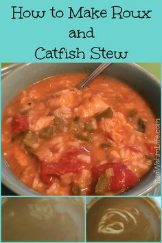 As a homeschooling family, it's not just my daughter who does the learning. This Summer my husband dug deep into learning how to catch catfish, no… Creole Recipes, Cajun Recipes, Seafood Recipes, Crockpot Recipes, Soup Recipes, Recipies, Southern Catfish Stew Recipe, How To Cook Catfish