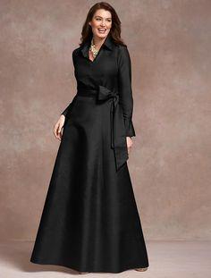 Women's Clothing & Apparel Talbots – Doupioni Ball Dress Women's Dresses, Ball Dresses, Fashion Dresses, Dresses With Sleeves, Dance Dresses, Wedding Dresses, Elegant Outfit, Elegant Dresses, Beautiful Dresses