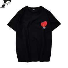 Encontrar Más Camisetas Información acerca de Luckyfridayf BTS amor usted  mismo camiseta hombres mujeres bangtan 428888f554127