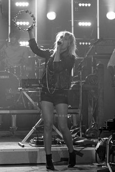 The awesome Emily Haines of Metric performing at Much Music studio in Toronto.
