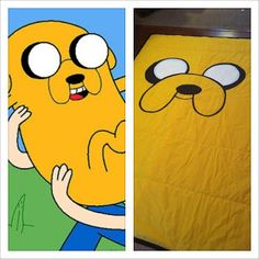 Use this to make muppet shirts for Halloween.  Utah County Mom: Adventure Time Bedding - FREE PATTERN!