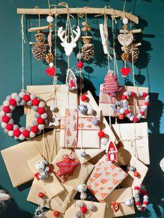 La #Navidad está a las puertas Christmas Branches, Christmas Decorations, Holiday Decor, Countdown Calendar, Advent Calendar, Ideas Para, Xmas, Gift Wrapping, Homemade