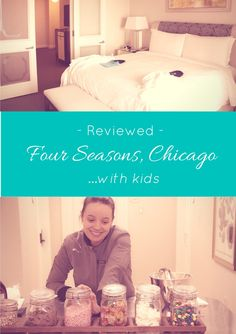 Four Seasons Chicago, with Kids.  The inside scoop on the room, the pool, the ice cream sundaes!