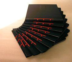 Stab bindings by Choni Naudín