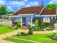 The Sims 4 Build / Rose Hill Court