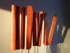 JR Jonathan Roy artiste peinture sculpture : Les sémaphores, 2014 Art Public, Magnetic Knife Strip, Knife Block, Jr, Candles, Sculpture, Home Ideas, Artist, Paint