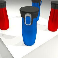 3Ds Travel Mug - 3D Model
