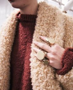 Purl on Pearl. — tomboybklyn: fuzzy sweaters and chunky...