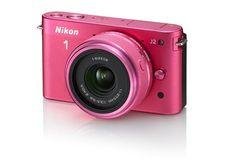 #Nikon Store - Nikon 1 J2 #Pink Kit 11 - 27.5 mm #Camera