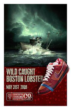 """f8f4ccac02b Nike Dunk SB """"Lobster"""" Business Illustration"""