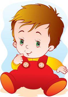 Cute Baby vector material Gratis PNG y Vector Boy Images, Boy Pictures, Pictures To Draw, Designer Baby, Birthday Scrapbook, Kids Scrapbook, Baby Cartoon, Cute Cartoon, Preschool Family Theme