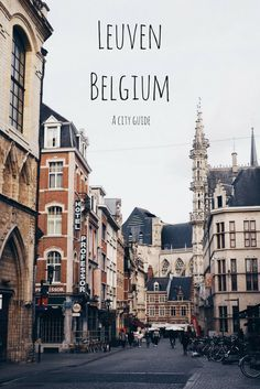 Did you know that Leuven, the university city in Belgium, is home to lots of unique tourist attractions? Visit a local brewery, sample handcrafted chocolates, walk in the steps of some seriously independent ladies and more. Click for the lowdown on why you need to visit Leuven and everything there is to do there!  Belgium trip | Europe travel | Belgian cities | Architecture