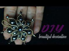 Кулон из бисера и бусин.DIY. Making pendant of beads and beads. - YouTube