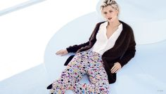 H&M 2015 spring collection Colorful loose pant