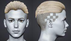 ArtStation - Silver head, Laura Gallagher