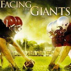 Facing the Giants - 2006 Enter the vision for. Drama Type and Films Original is name Facing the Giants. Facing The Giants, Film Movie, See Movie, Family Movie Night, Family Movies, Movies Showing, Movies And Tv Shows, Faith Based Movies, Films Chrétiens