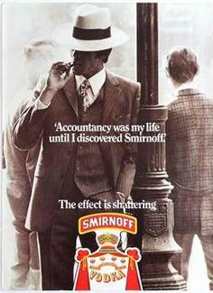 """Smirnoff """"The Effect is Shattering"""" Campaign - Read our latest post at https://www.facebook.com/AntikBar.co.uk/posts/1192925790746232 on the collection of 12 different original vintage 1970s Smirnoff advertising posters available at our upcoming auction this Saturday (8 October), listed with starting prices of only £10. Visit http://www.antikbar.co.uk/news_and_events/detail/?nId=169 for more information with links to view our catalogue and register to bid. AntikBar.co.uk"""