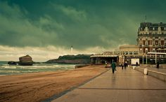Biarritz--- I stayed there for a month and a half during the best vacation of all times in 1999