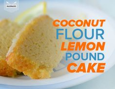 This Paleo Lemon Pound Cake is bursting with lemon flavor! *I will be sub'ing Arrowroot Powder for Tapioca Starch