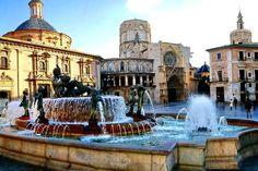 Valencia City Ville, Valencia Cathedral, French Gothic Architecture, Valencia City, Dubai Skyscraper, Spain And Portugal, Spain Travel, European Travel, Dream Vacations