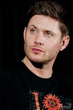 Eyebrow raise....green  eyes...jensen*moaning softly*
