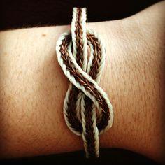Infinity Horse Hair Bracelet