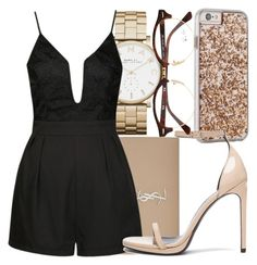 """17.7"" by mallorimae ❤ liked on Polyvore featuring Marc by Marc Jacobs, Case-Mate, Yves Saint Laurent, Ally Fashion and Ray-Ban"