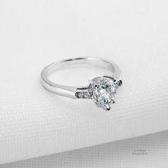 1.5 ct Three Stone Plus Ring Top CZ Imitation Moissanite Sterling Silver Sz 5