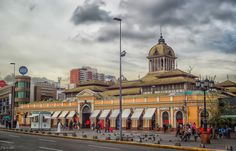 Mercado Central, Santiago de Chile by Francisco Garcia Diaz on Southern Cone, Chili, Cities, South Of The Border, Easter Island, South America Travel, Parcs, Central America, Places To Visit