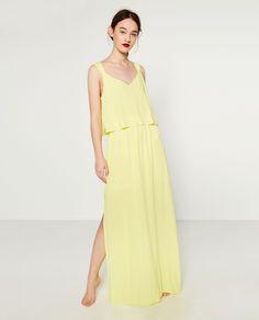 LA MODA ME ENAMORA : 15 vestidos largos de Zara que son pura tendencia de verano