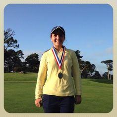 Bentley Athletics @bentley_athltx  10 Oct 2013 Congrats Sydney!!!  2013 Bay Area Conference women's golf champion!!! @bentleyschool #gophoenix #ontherise