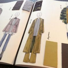 Fashionary Hand - A Fashion Illustration Blog - Modezeichnung für Outfits