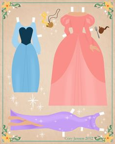 ariel paper doll 2 | paper dolls by cory