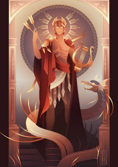 Apollo Greek Mythology, Greek And Roman Mythology, Greece Mythology, Dibujos Percy Jackson, Greek Gods And Goddesses, Goddess Art, Moon Goddess, Artemis Goddess, Greek Art
