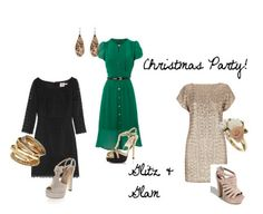 Great outfit choice for a Christmas party during this holiday season!