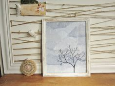 Tree in the Storm 11 X 14 giclee print from my by averyrayne, $27.00