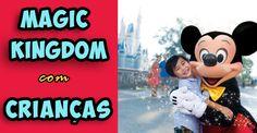 Modelo pronto de roteiro para o Magic Kingdom com crianças!