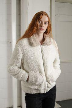 Keep it cozy Fuzzy Coat, Warm Coat, Bohemian Lifestyle, Teddy Coat, Getting Cozy, Winter Accessories, Women Wear, Turtle Neck, Pullover