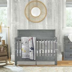 Did you know ALL of our cribs convert to toddler beds? Plus our new Charlie 4-in-1 crib grows🌱 with your child even one step further by converting into a full size bed (& how bout that new elevated finish?) #lovemypbk