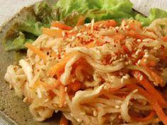 切り干し大根と人参の中華風サラダの画像