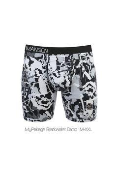 MyPakage / Grubwear 'MANSION' SERIES Briefs - CAMO