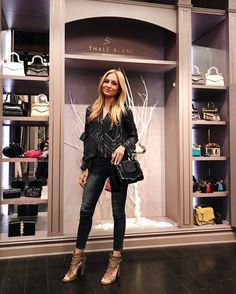Thank you Sophie Elkus for stopping by our store on Melrose Place. The newest Thalé Blanc addition looks great on you. #Shopping #LosAngeles #ThaleBlanc