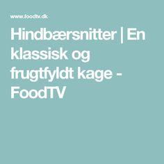 Hindbærsnitter   En klassisk og frugtfyldt kage - FoodTV Cakes, Pastries, Torte, Cookies, Animal Print Cakes, Layer Cakes, Cake